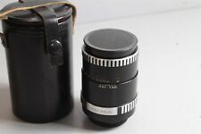 #13 Carl Zeiss Jena DDR 135mm f/3.5 m42 mount *zebra*