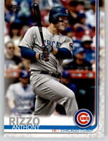 (15) 2019 Topps Series 2 15-Card Base Lot ANTHONY RIZZO Cubs #596