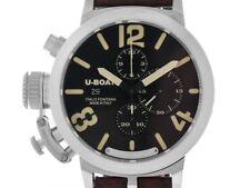 U-Boat Italo Fontana Classico Sterling Silber Chronograph Limitiert 48mm