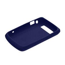 Genuine Blackberry Bold (9700) piel de silicona – Azul Oscuro