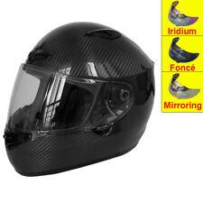 LEOPAR LEO-958 PSI Carbon Casque de Moto Casques intégraux  Brillant + Visière