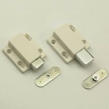Magnetic Push To Open Touch Catches Cabinet Kitchen Door White Pressure Latch