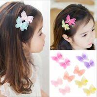 Clips 3D Butterfly Children Hair Pins Barrettes Headwear Accessories Princess