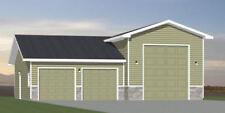 44x48 1 RV Garage - 1,921 sq ft - PDF Floor Plan - Model 1B