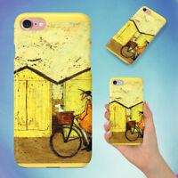 ART BICYCLE BIKE BIKING HARD BACK CASE FOR APPLE IPHONE PHONE