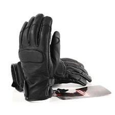 Gants noirs en cuir, taille L pour motocyclette