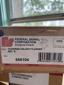 federal signal headlight flasher. Model FA450RDG