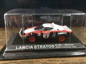 Ixo Altaya 1:43 Lancia Stratos Pirelki Marku Alen Rally San Remo 1978