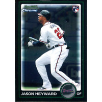 Jason Heyward Unsigned 2010 Bowman Chrome Rookie Card