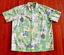 Tommy Hilfiger Fashion Men's Hawaii Aloha XL Shirt Bright Colors