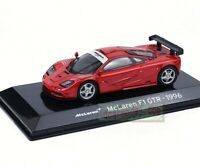 1/43 Scale Mclaren F1 GTR 1996 Red Diecast