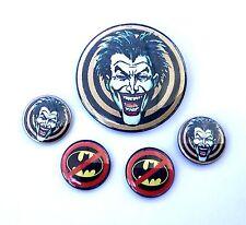 Joker Goons / Anti Batman Button Set