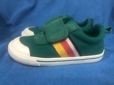 New Toddler Boy Toms Doheny Greenlake Striped Canvas Sneaker Shoes Size 8