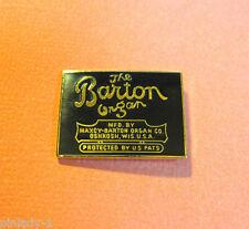 The BARTON Organ  - hat pin , hatpin , lapel pin  , tie tac GIFT BOXED