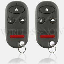 2 Car Key Fob Keyless Remote 4Btn For 1998 1999 2000 2001 2002 Honda Accord
