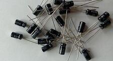 lot de 10 condensateurs chimique 4,7uf 35V NICHICON
