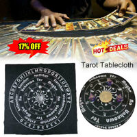 Tarot Tablecloth Divination Tarot Card Pad Pendulum Runes Cloth Altar New