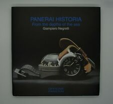 """Panerai Historia: From the Depths of the Sea"" rare illustrated book 1999"