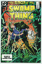 SWAMP THING #23 9.2 AUTOGRAPHED BY TOTLEBEN W PGS 1984
