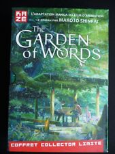 THE GARDEN OF WORDS Coffret COLLECTOR manga + roman TBE