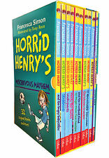 Horrid Henry's Mischievous Mayhem Collection 10 Books Box  Set Children Books