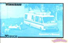 WINNEBAGO ITHASCA MANUAL OWNER 1985 MOTORHOME