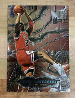 1996 96-97 Fleer Metal Shredders Michael Jordan #241, Bulls HOF PSA Potential 🔥