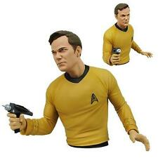 STAR TREK THE ORIGINAL SERIES CAPTAIN KIRK BUST BANK 2015 *NEW*