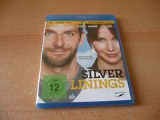 Blu Ray Silver Linings - 2012 - Bradley Cooper - Jennifer Lawrence