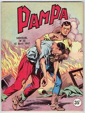 PAMPA N°32 Très Bon Etat - Editions Lug avril 1957- (dernier numéro de la série)