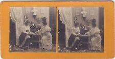 Los Joueuses De Folios Salón Moda Mujeres Francia Estéreo Vintage Analógica