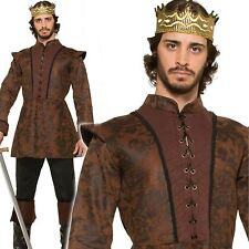 Joffrey adulte king arthur costume homme médiéval chevalier prince fancy dress outfit