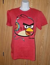Angry Birds Red Bird Wearing Headphones T-Shirt Small