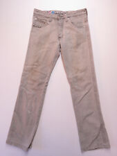 MEN'S INDUSTRIE GREY DISTRESSED BUTTON FLY DENIM JEANS SIZE 32 AS NEW
