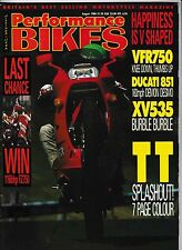 PB 1988-08 Honda VFR750 Ducati 851 XV535 Virago Suzuki DR200J Isle of Man TT