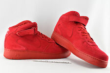Nike Air Force 1 Mid '07 - Size 16 - NEW- 315123-609 Triple Red October High One