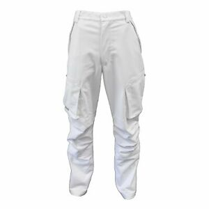NEW Wildfowler Men's Waterproof Power Pants Pants, White Snow, Large Size