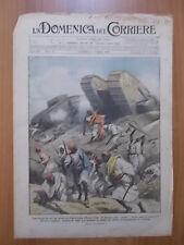 DOMENICA del CORRIERE 8/1919 Tripolitania, Tricolore a Postumia, Morte Roosevelt