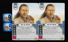 Star Wars Destiny: *2x HUSH-98 COMLINK* - Legacies #59