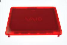 Red Sony Vaio VPCCA VPC-CA Series LCD Pantalla Trasera Carcasa Tapa De Tapa 012-300A-5883-C