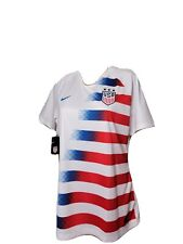 Nike Uswnt Us Womens National Team Usa Jersey Slim Fit Xl White Nwt New Soccer