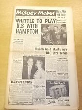 MELODY MAKER 1956 JULY 14 LIONEL HAMPTON BOBBY HOWELL JAZZ BIG BAND SWING