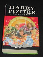 wmf  SALE : J.K. ROWLING ~ HARRY POTTER AND THE DEATHLY HALLOWS #7 BLOOMSBURY HB