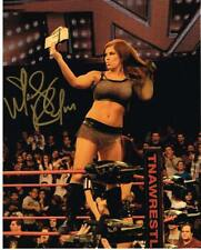 TNA KNOCKOUT MADISON RAYNE AUTOGRAPHED 8X10 PHOTO AUTO SIGNED AUTOGRAPH