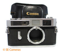 CANON MODEL 7 35MM RANGEFINDER CAMERA BODY & EVER READY CASE EXCELLENT
