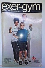 Exer-Gym, Special Fitness Courses, Bart Starr, etc., 1968, DPC - Very Collectibl