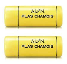 2 Units Aion Plas Chamois Formerly Kanebo 430mm x 325mm Medium Size Made n Japan