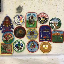 15 Vintage Boy Scout Activity Patches OLD COUNCIL NAME Boulder Dam Area Council