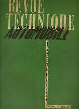 (C16) REVUE TECHNIQUE AUTOMOBILE CITROEN T 23 LU et RU / Buick Dynaflow