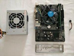 ASRock B85M-HDS Motherboard CPU + RAM + PSU Bundle